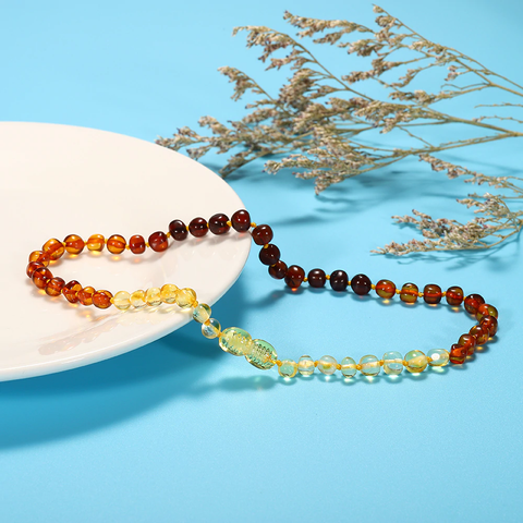 Natural Amber Health Necklace