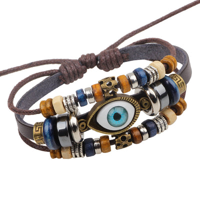 The Evil Eye Protective Amulet Bracelet