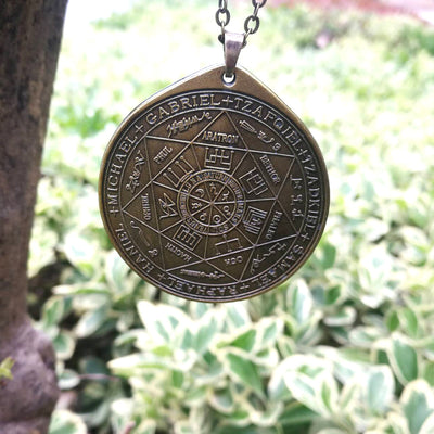 The Seven Archangels Kabbalah Health Amulet