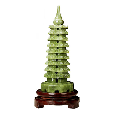 Feng Shui Lucky Tower Jade Ornament