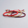 Tibetan Buddhist Prosperity and Good Luck String Bracelets - Inner Manifestation