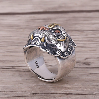 Mythical Pixiu Ring