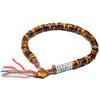 Tibetan Buddhist OM Tiger Eye Beads Bracelet - Inner Manifestation