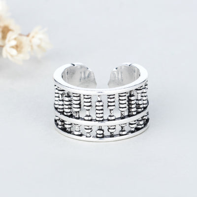 Auspicious Abacus Wealth Ring