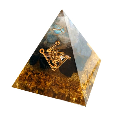 Energy Cleansing Orgonite Pyramid - Buddha Prayers Shop