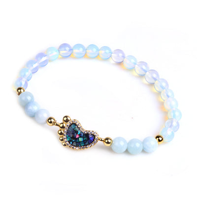 Good Luck & Prosperity Opal Bracelet - Buddha Prayers Shop
