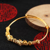 Double Pixiu Gold Wealth Bangle - Inner Manifestation