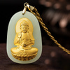 Jade Buddha Necklace - Buddha Prayers Shop