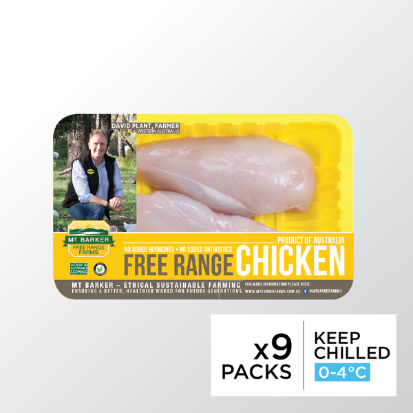 MT Barker Chicken Breast Boneless Skinless