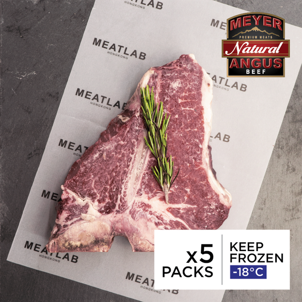 Meyer 30 Days Dry Aged US Natural Angus Porterhouse Steak (Prime)