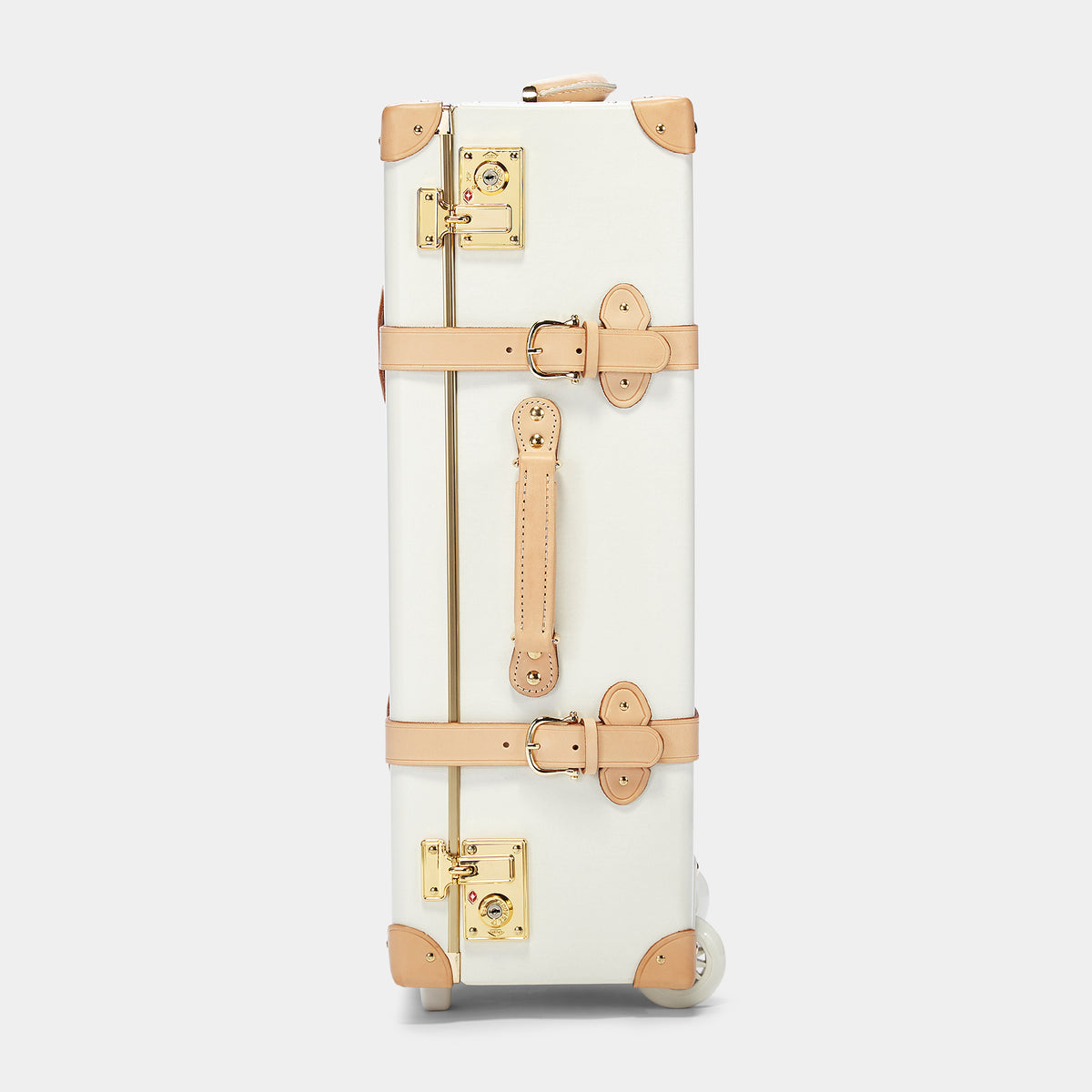 The Sweetheart Stowaway - Vintage-Inspired Luggage - Exterior Side