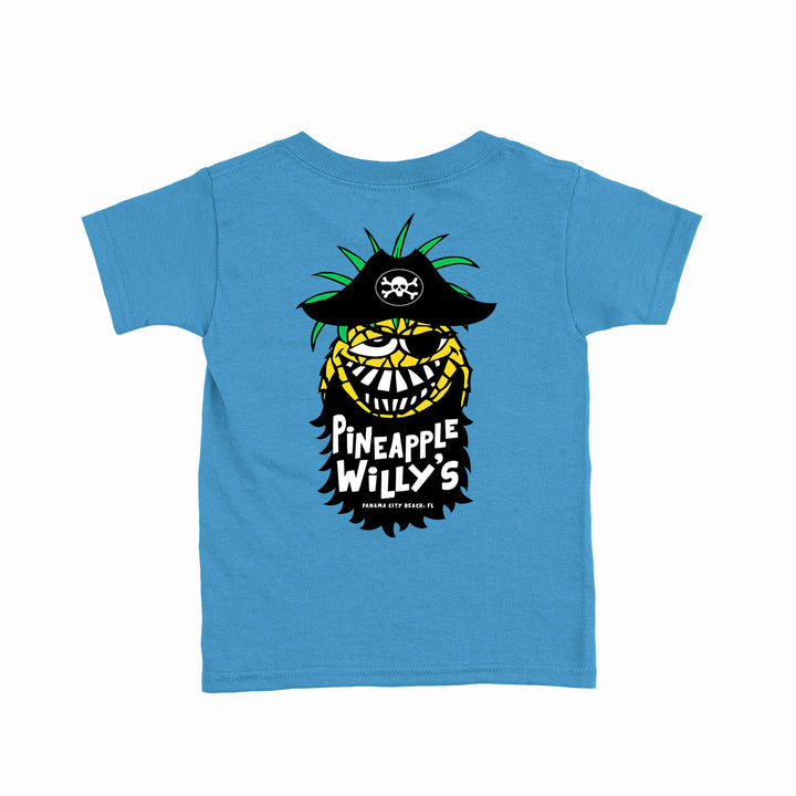 Kids Aqua Bearded Willy