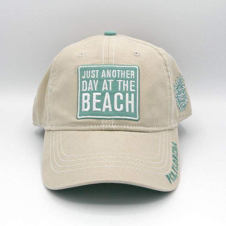 Khaki/Mint Just Another Day At The Beach