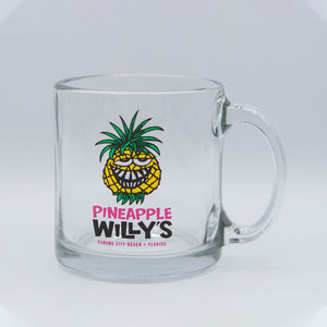 Pineapple Willy's Glass Mug