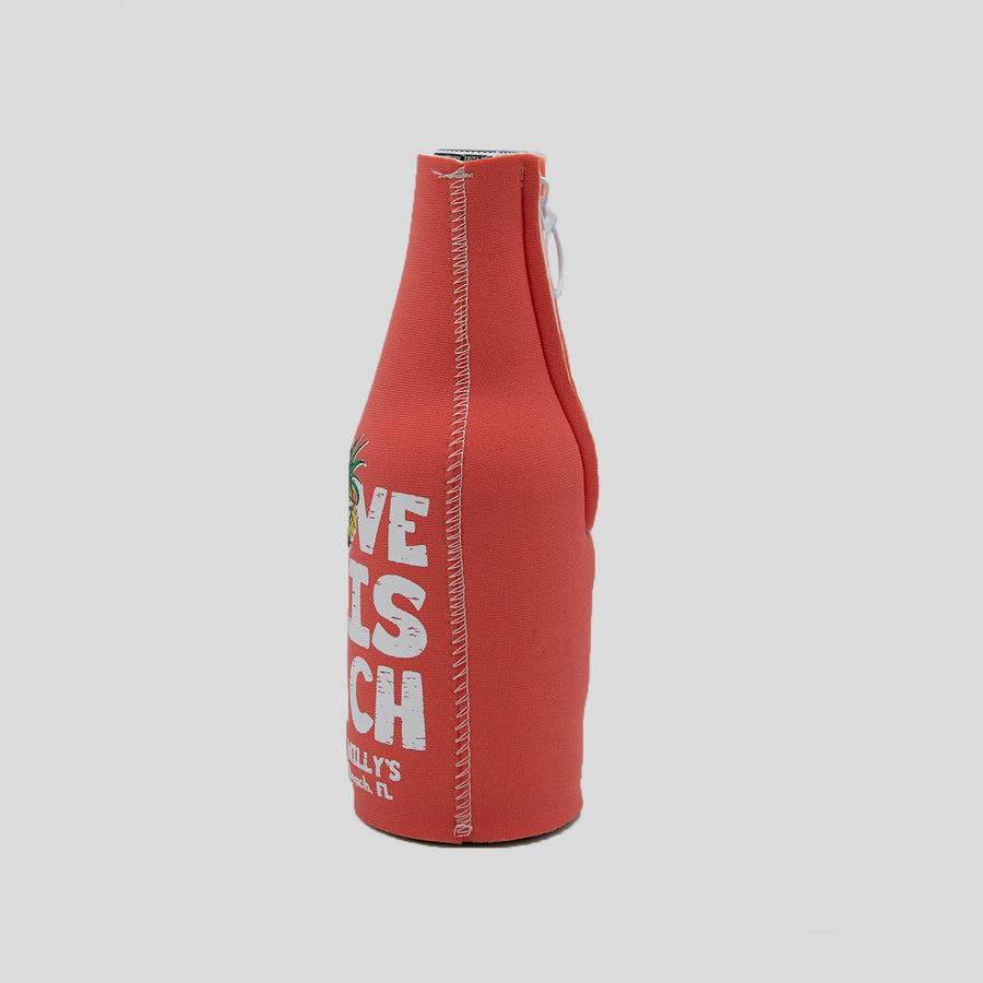 Coral Bottle Koozie
