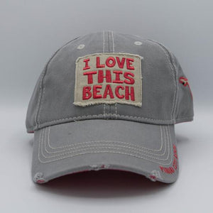I Love This Beach Hat