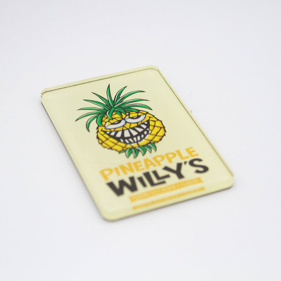 Pineapple Willy Head Magnet
