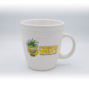 White Pineapple Willy Mug