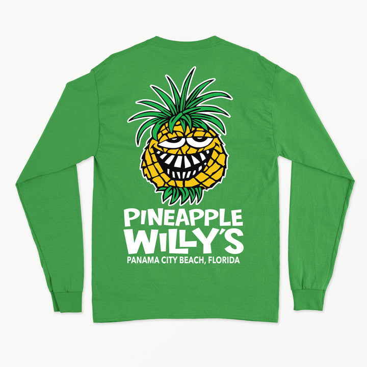 Long Sleeve Green Face