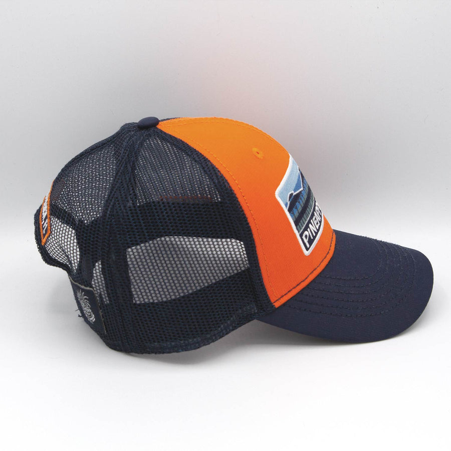 Orange & Blue Mesh pier Patch