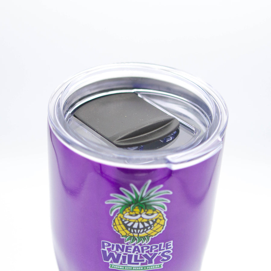 Purple Stainless Steel Cup