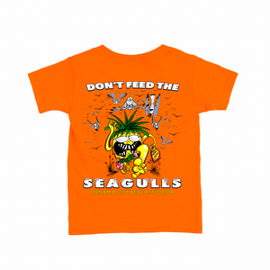Kids Orange Seagull