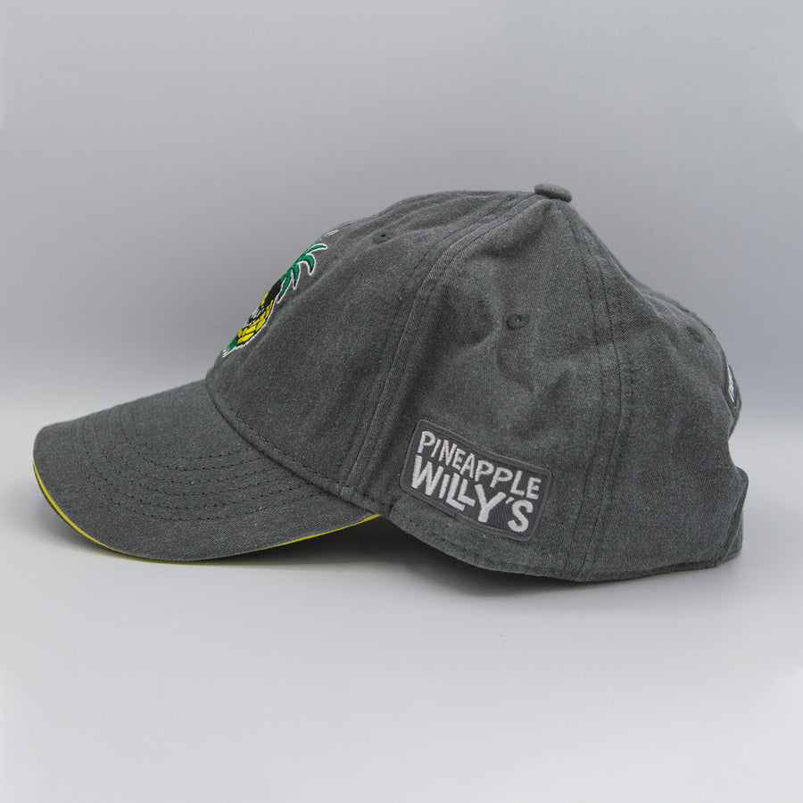 "Grey Canvas Pineapple Willy's ""Vinny"" Hat"