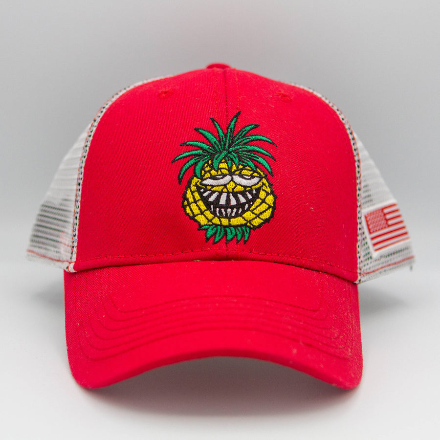 Mesh Pineapple Willy Logo Hat