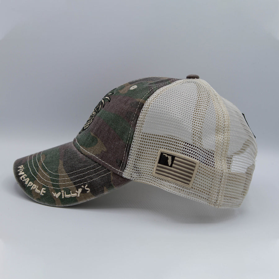 Pineapple Willy's Camo Hat