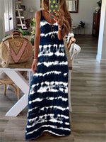 V Neck Sleeveless Dresses