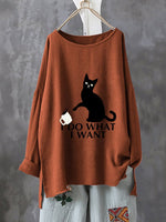 Sweet & Cute Long Sleeve Animal Shirts & Tops