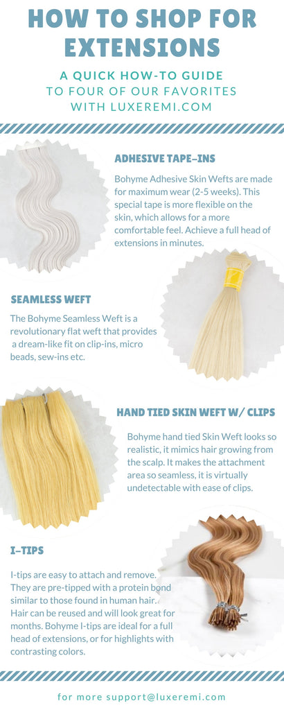Luxe Remi's Extension Shopping Guide