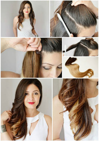 Add Colors Easily With Clip Ins