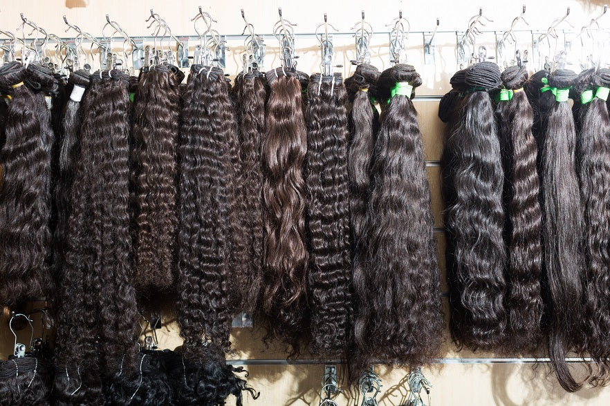 Hair Extensions Selection
