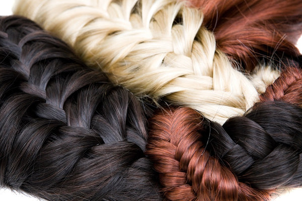 Assorted Braided Hair Extensions