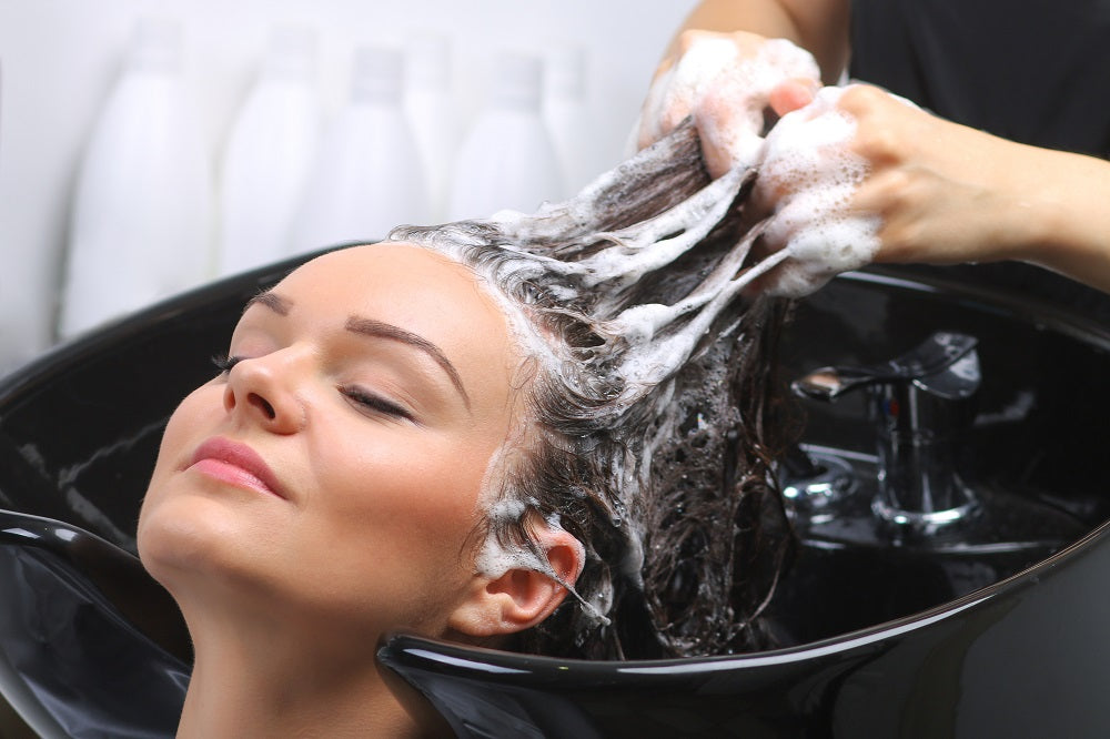 Washing Hair at Salon