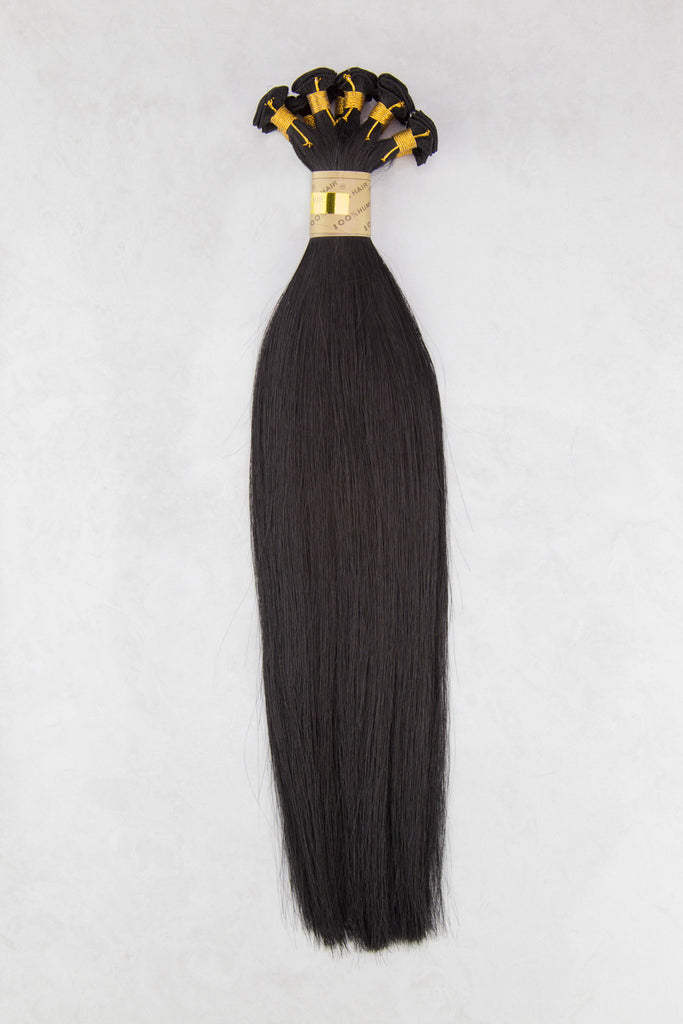 "Hand Tied Silky Straight 14"" - Hand-Tied -  LuxeRemi  - 2"