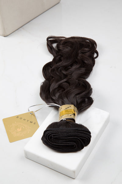 Loose Wave - Machine-Tied -  LuxeRemi  - 1