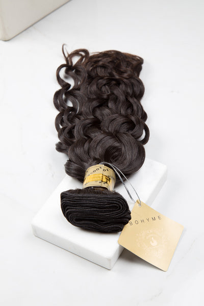Natural Curl - Machine-Tied -  LuxeRemi  - 1