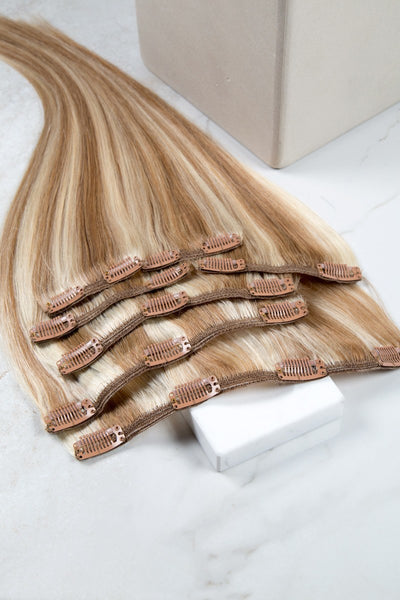 7 Piece Clip-In Extensions - Clip-In -  LuxeRemi  - 1