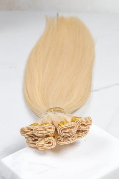 "Hand Tied Silky Straight 18"" - Hand-Tied -  LuxeRemi  - 1"