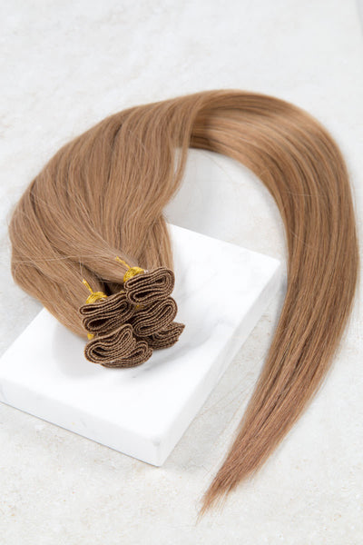 "Hand Tied Silky Straight 14"" - Hand-Tied -  LuxeRemi  - 1"