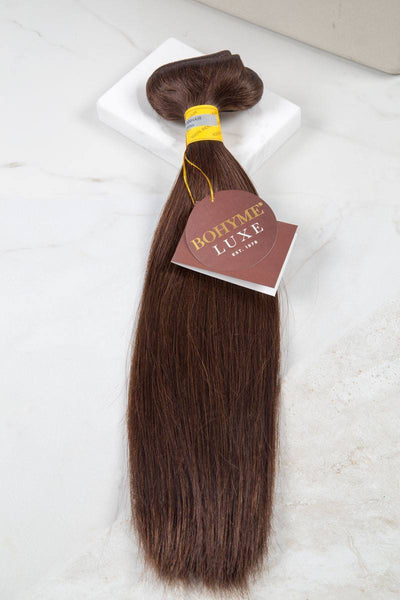 "Luxe - Silky Straight 16"" - Machine-Tied -  LuxeRemi  - 1"