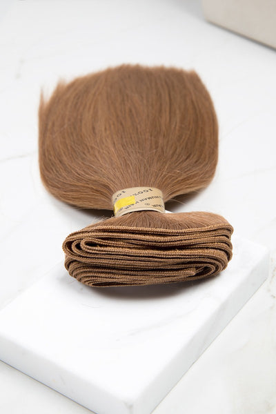"Silky Straight 14"" - Machine-Tied -  LuxeRemi  - 1"