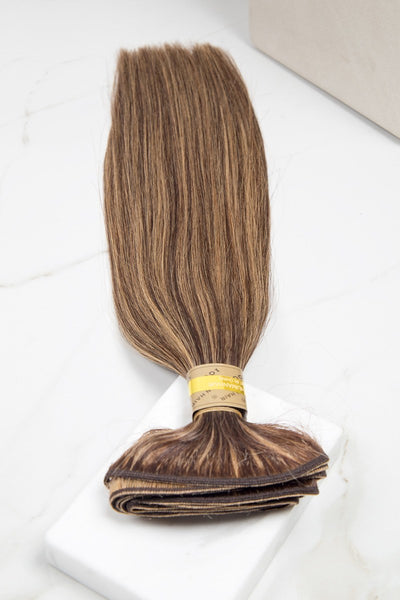 "Silky Straight 16"" - Machine-Tied -  LuxeRemi  - 1"