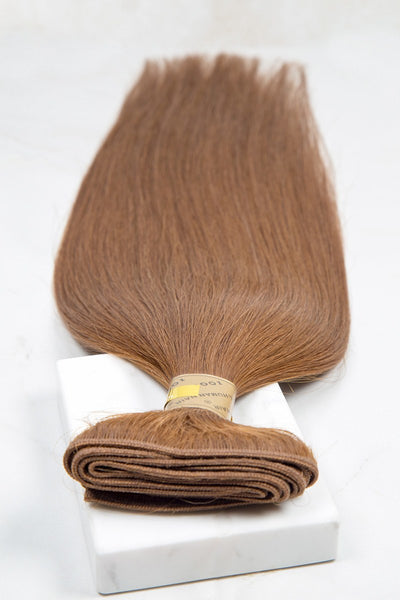 "Silky Straight 18"" - Machine-Tied -  LuxeRemi  - 1"