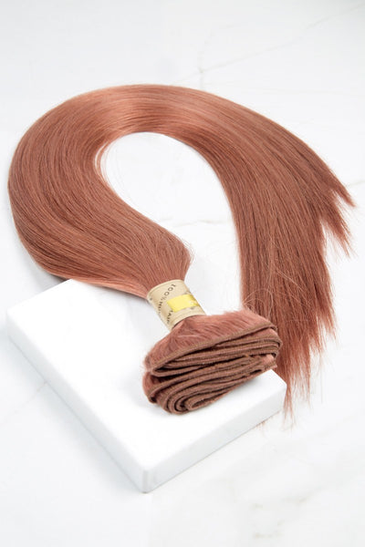 "Silky Straight 22"" - Machine-Tied -  LuxeRemi  - 1"