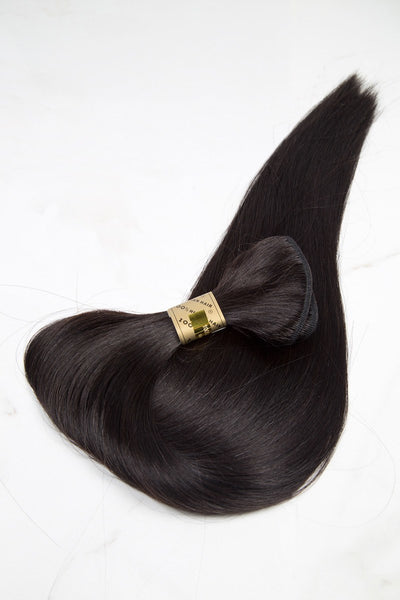 "Silky Straight 26"" - Machine-Tied -  LuxeRemi  - 1"