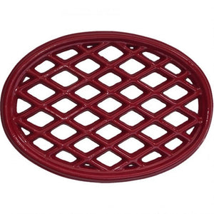 Trivet in Apple Red Cast Iron - TRVT-1103