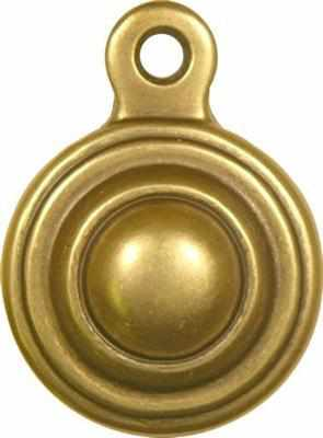 Bed Bolt Cover with Antique Brass Finish BF-113-Antique Hardware & More LLC